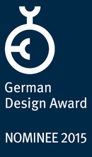 German Design Award Nominee 2015 Wanduhren artetempus®