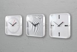Design Wanduhren Quadratisch