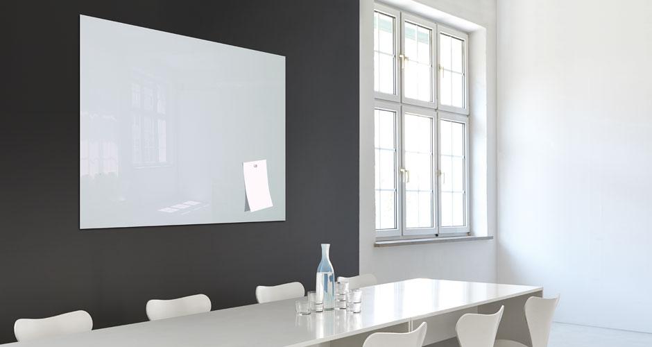 Glas-Magnetboard artverum Organisationsboard - Sigel