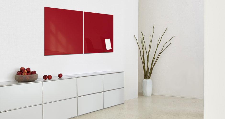 Glas-Magnetboard artverum 48 x 48 - Sigel