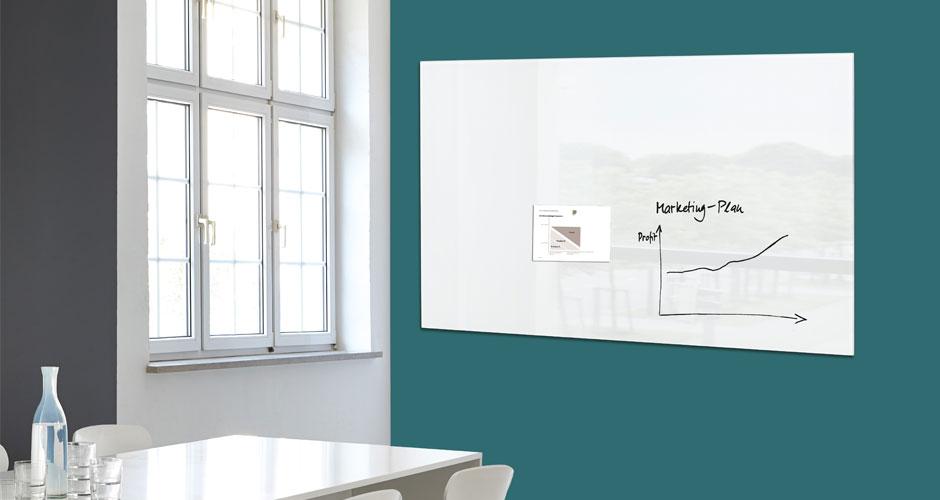 Glas-Magnetboard artverum Planungsboard - Sigel