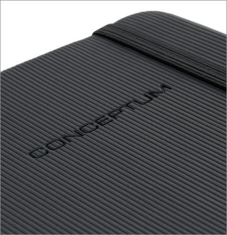 Notizbuch CONCEPTUM® hardcover schwarz