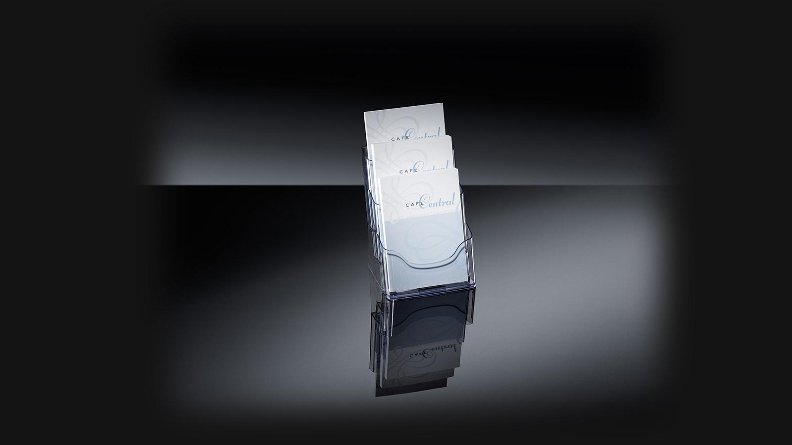 Prospekthalter acrylic