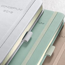 Conceptum Kalender 2018 der Serie Pure in Businessfarben