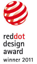 reddot design award 2011 Notizbuch CONCEPTUM®