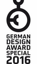 German Design Award 2016 Special Mention Notizbuch CONCEPTUM®