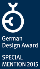 German Design Award 2015 Special Mention Notizbuch CONCEPTUM®