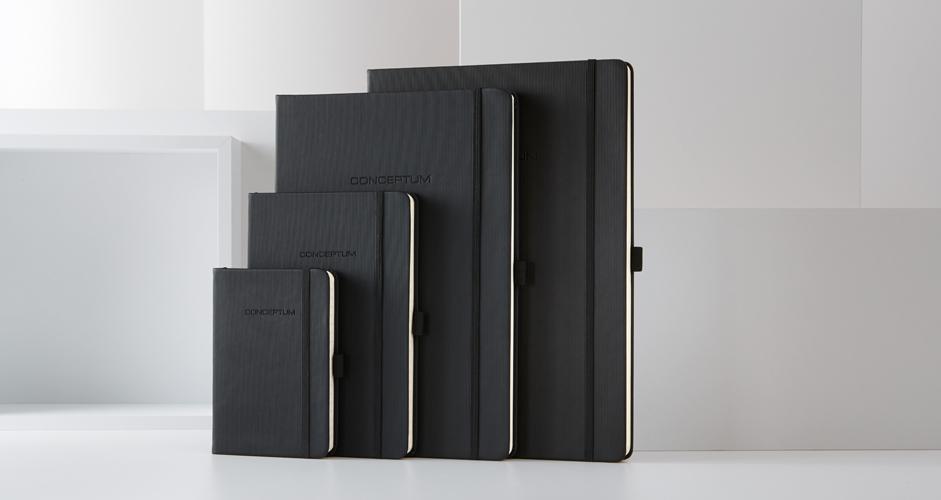 Notizbuch CONCEPTUM® Pure schwarz Gruppe
