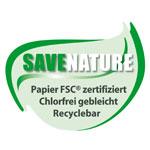 Nachhaltig produzierte Formulare