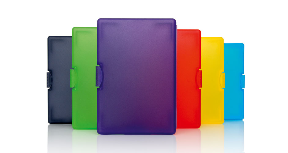 Business card case colour