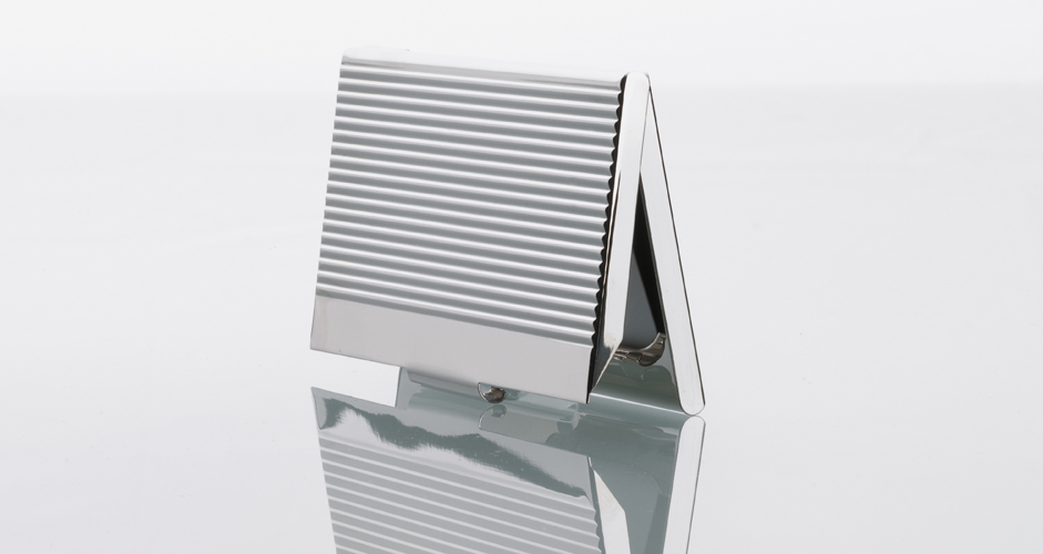 Business card case chrome