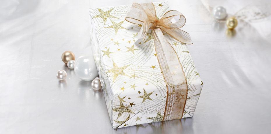 weihnachen edle geschenkbänder